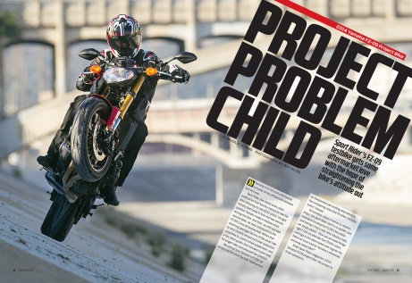 Editorial Design, Sport Rider magazine