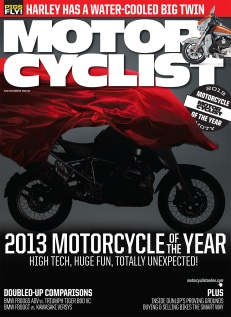 Motorcyclist Cover